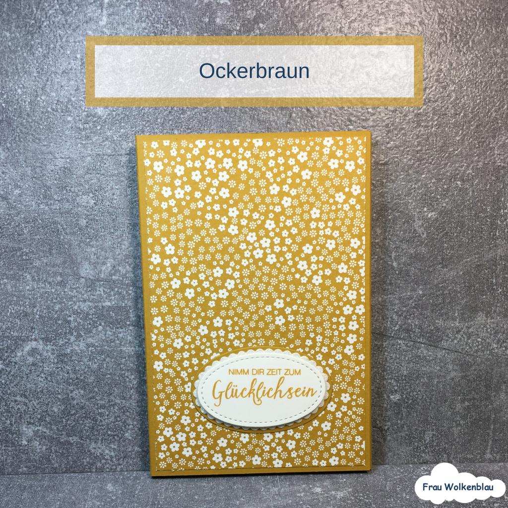 Minialbum Ockerbraun