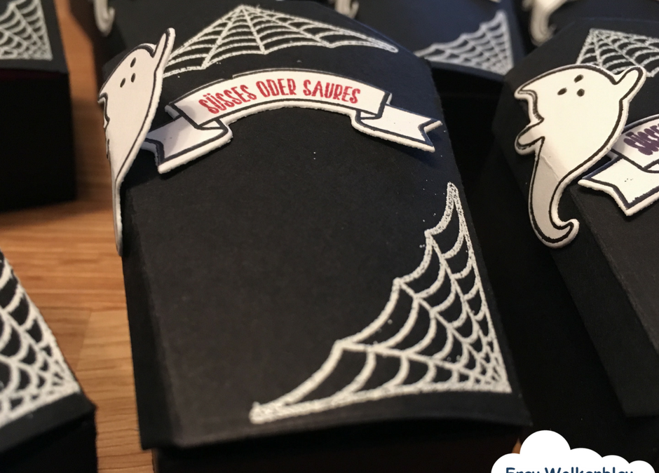 Halloween Goodies diy – Vampir im Sarg