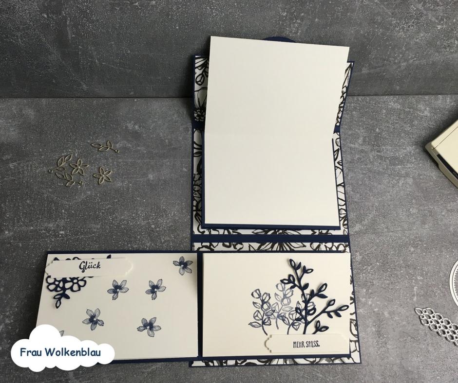Geschenk-zum-Muttertag-Minialbum-Marineblau-Blütenfantasie-weiter-aufgeklappt
