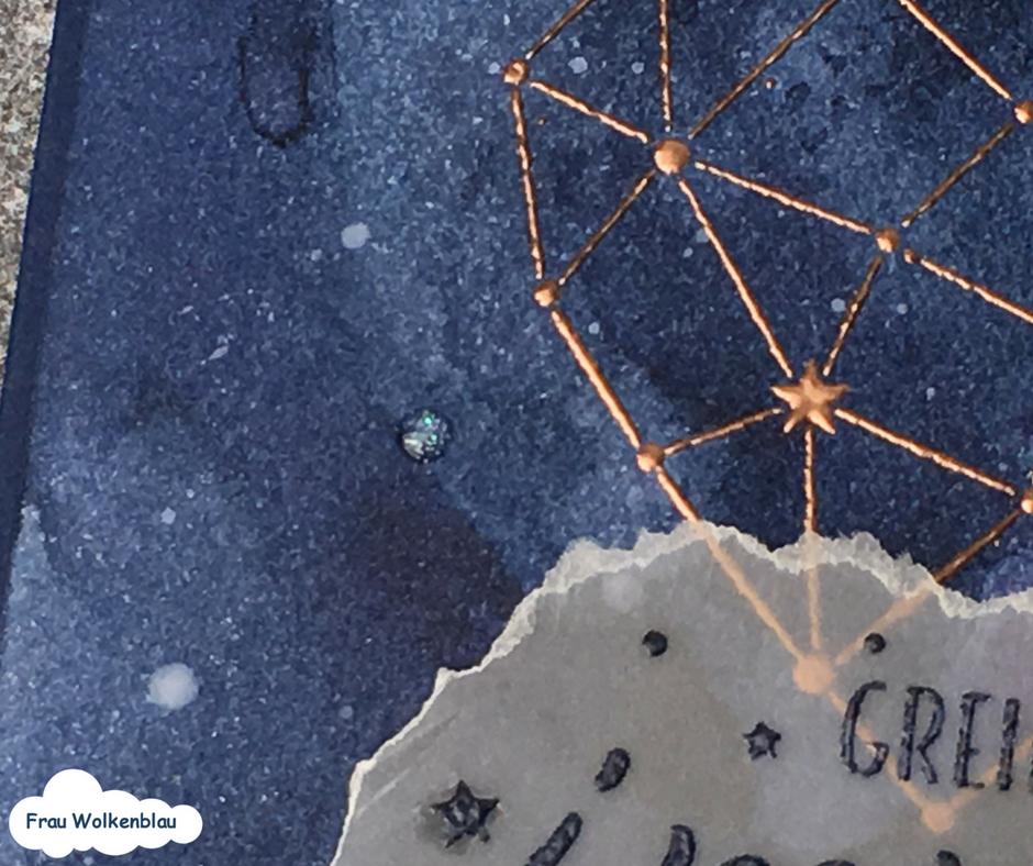 Sternenstaub-Grußkarten-Sternstunden-Detail